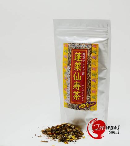 Houraisenjucha - Чай из 22 диких трав_0