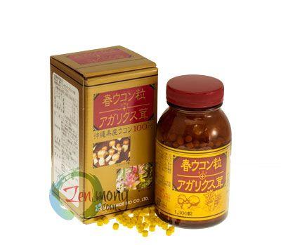 봄 우콘 (강황) + 아가리쿠스 버섯