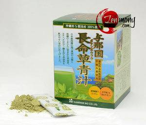 Yonaguni Botanboufu Aojiru Chomeisou longevity herb