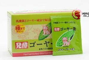 Чай из ферментированной горькой дыни