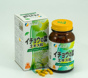 Ginkgo Biloba Extract Tablets