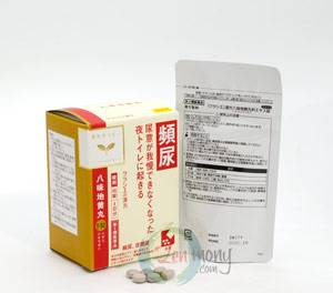 Cracie (八味地黄丸) Hachi-mi-ji-o-gan for frequent urination (pollakiuria) and nocturia
