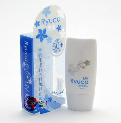 Ryuca UV milk (for face and body)