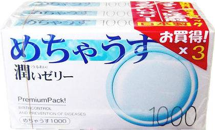 Ultra Thin Condoms 1000 (3 packs)