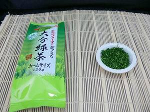 Зеленый чай из Ойта - домашний размер