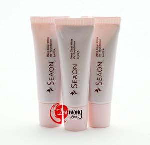 Seaon Deep Clear White UV Foundation (beige, SPF6) 10g  X 3