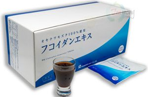 Concentrated Liquid Fucoidan Extract