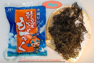 Dry Okinawa Mozuku seaweed 15 gram
