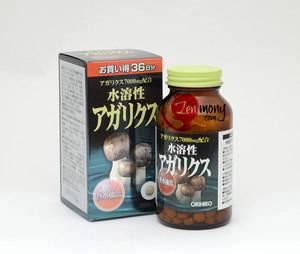 물에 녹는 아가리쿠스 버섯 오리히로